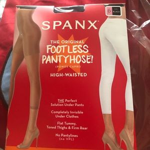 Spanx High Waisted Capri Shapewear